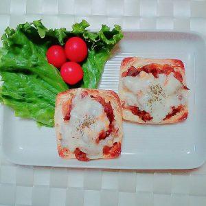 焼肉のタレでつくる薄揚げのチーズピザ