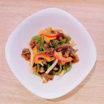 青椒肉絲(チンジャオロース)もエバラのタレで簡単
