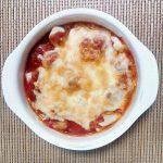トマトソースで焼くだけもちピザ風