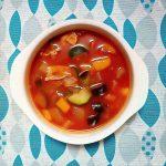 夏野菜🍆の冷たいミネストローネ