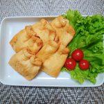 安価な挽肉でうす揚げの福袋✌️