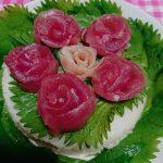 母の日に…。ケーキ寿司